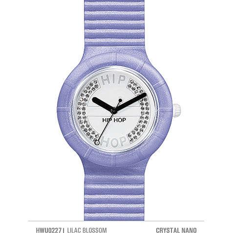orologio solo tempo donna Hip Hop Crystals HWU0227