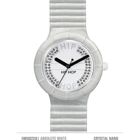orologio solo tempo donna Hip Hop Crystals HWU0228