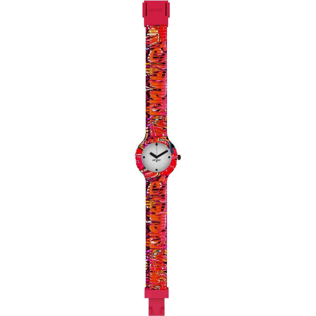 orologio solo tempo donna Hip Hop Graffiti HWU0623