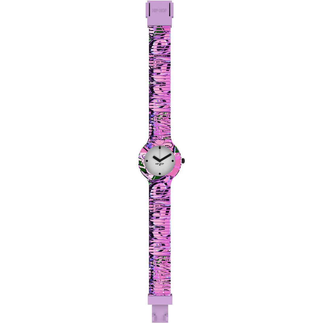 orologio solo tempo donna Hip Hop Graffiti HWU0624