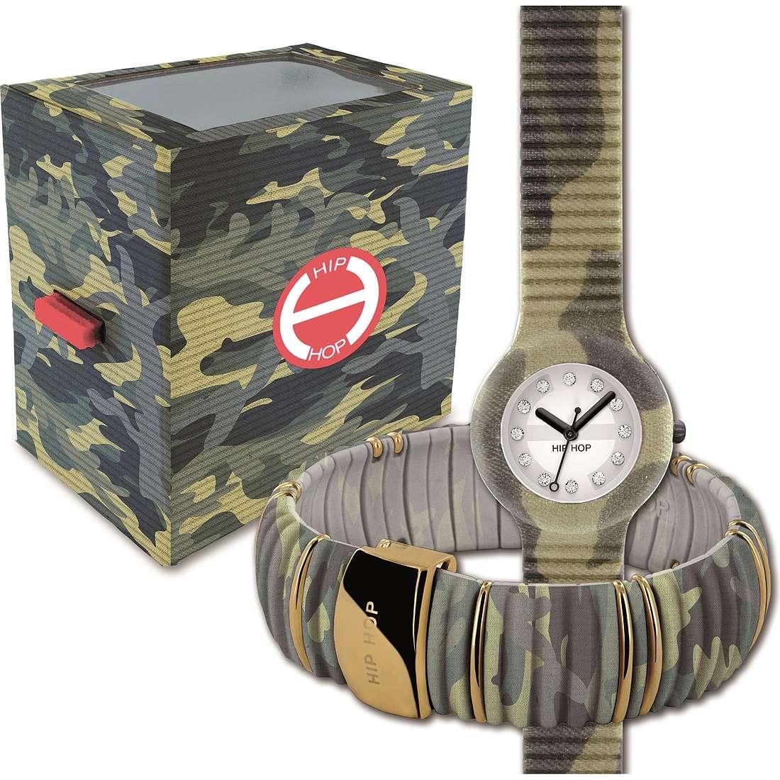 orologio solo tempo donna Hip Hop HK0036