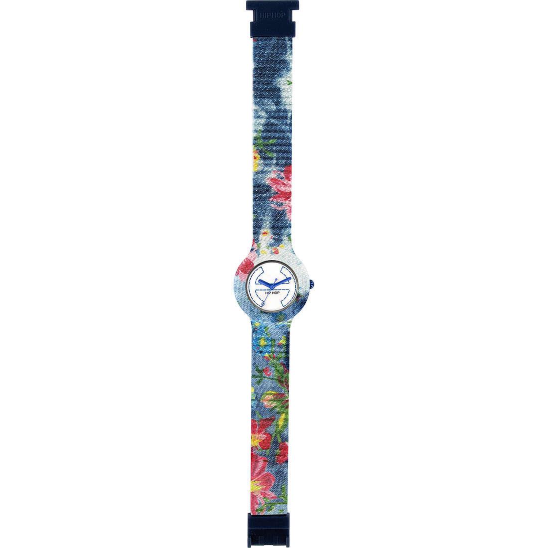 orologio solo tempo donna Hip Hop Jeans HWU0405