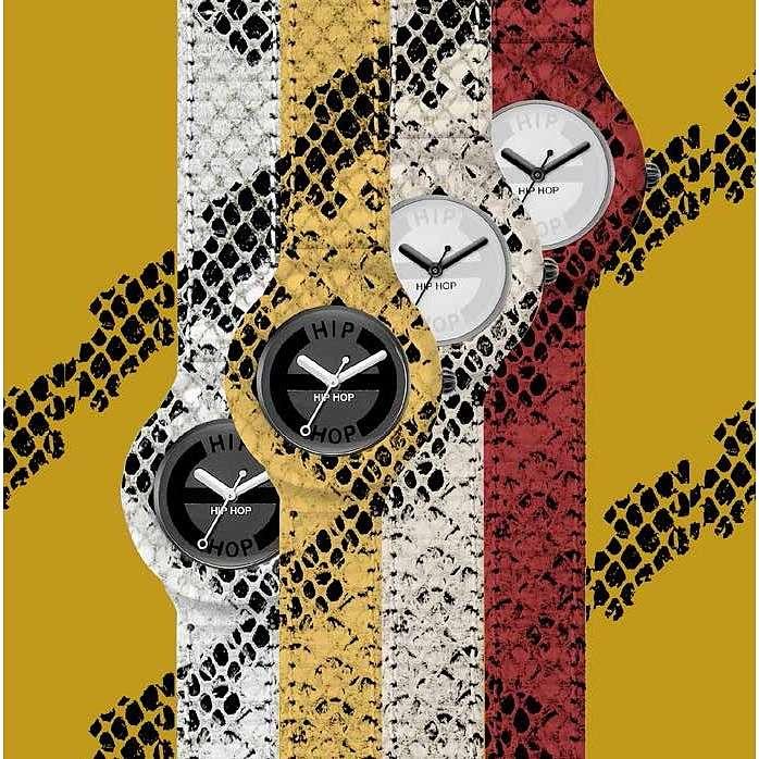 orologio solo tempo donna Hip Hop Leather HWU0412