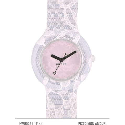orologio solo tempo donna Hip Hop Pizzo HWU0251