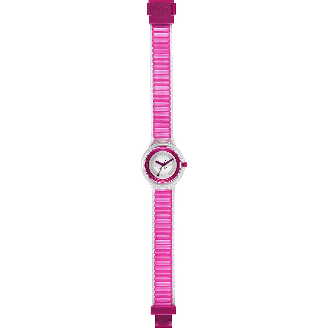 orologio solo tempo donna Hip Hop Sheer Colors HWU0444