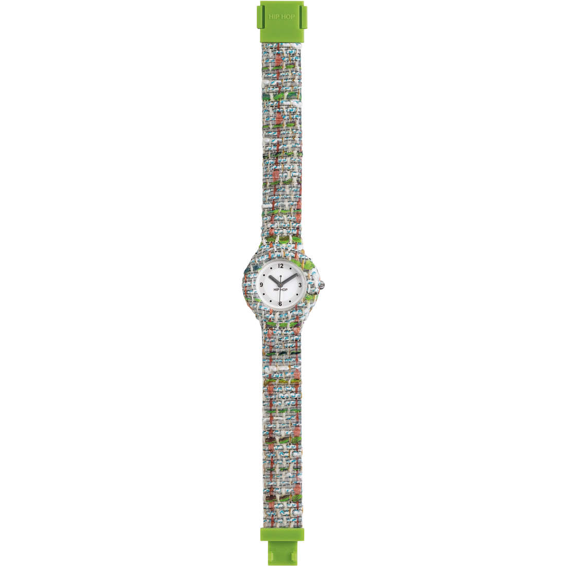 orologio solo tempo donna Hip Hop Tweed HWU0622