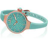 orologio solo tempo donna Hoops Cherié Diamonds 160 2593LBG06