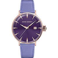 orologio solo tempo donna John Dandy JD-2609L/20
