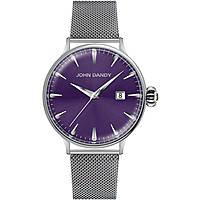 orologio solo tempo donna John Dandy JD-2609L/22M