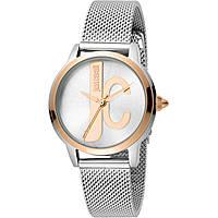 orologio solo tempo donna Just Cavalli Logo JC1L050M0115