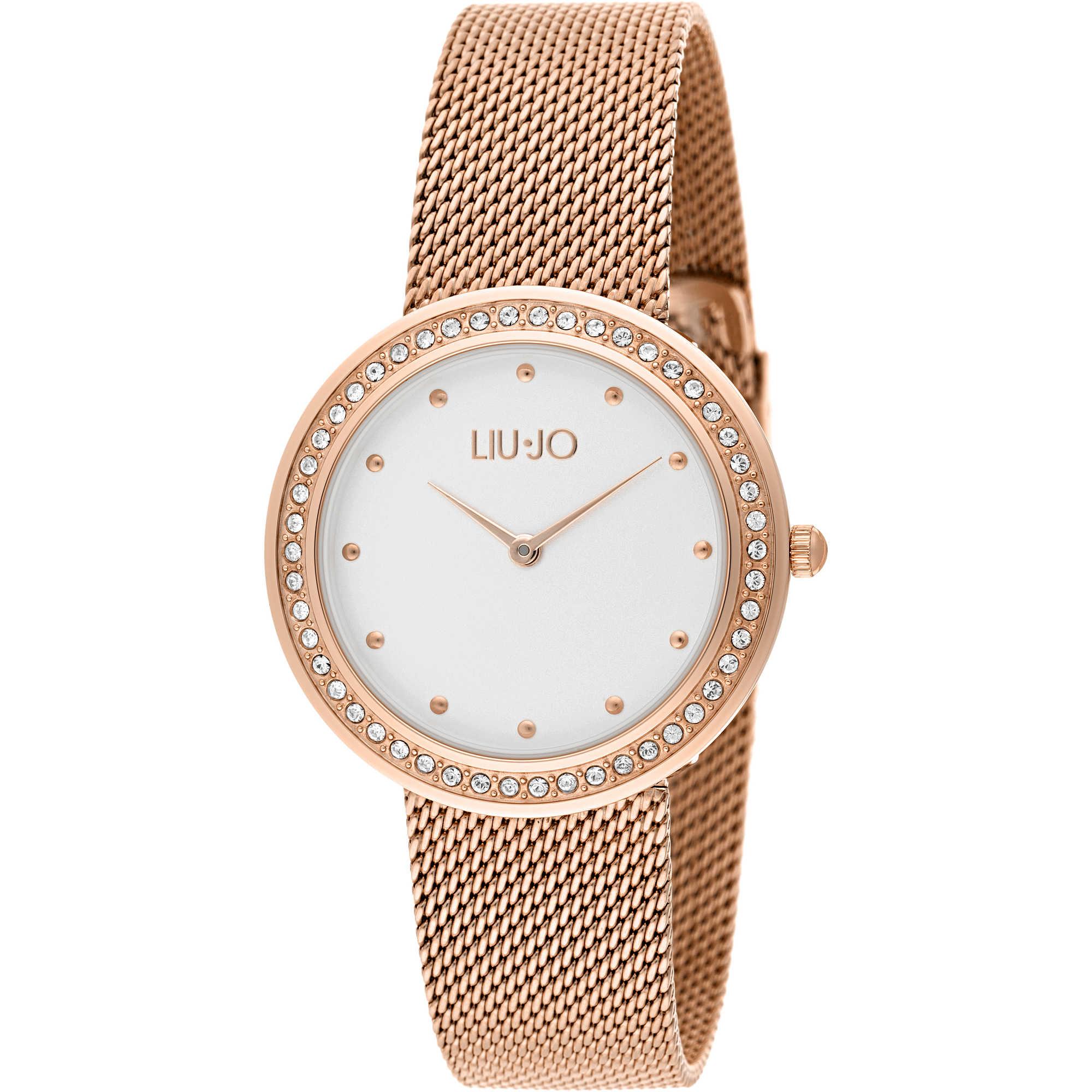 4fd929b093c7a orologio solo tempo donna Liujo Luxury Round TLJ1194A solo tempo Liujo