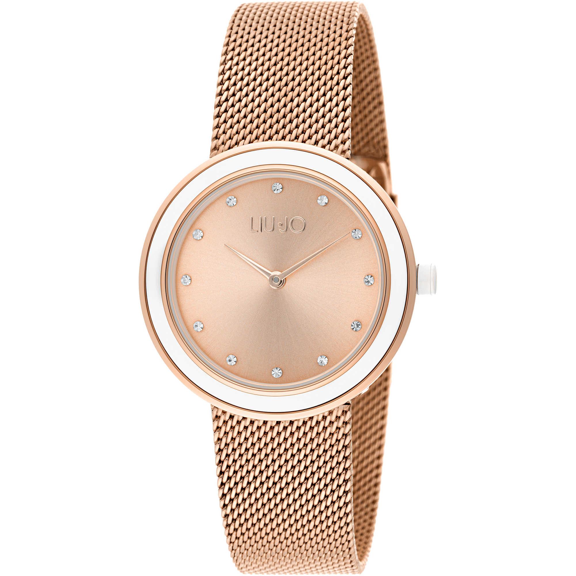 501a1b2d1a929 orologio solo tempo donna Liujo Luxury Round TLJ1200A solo tempo Liujo