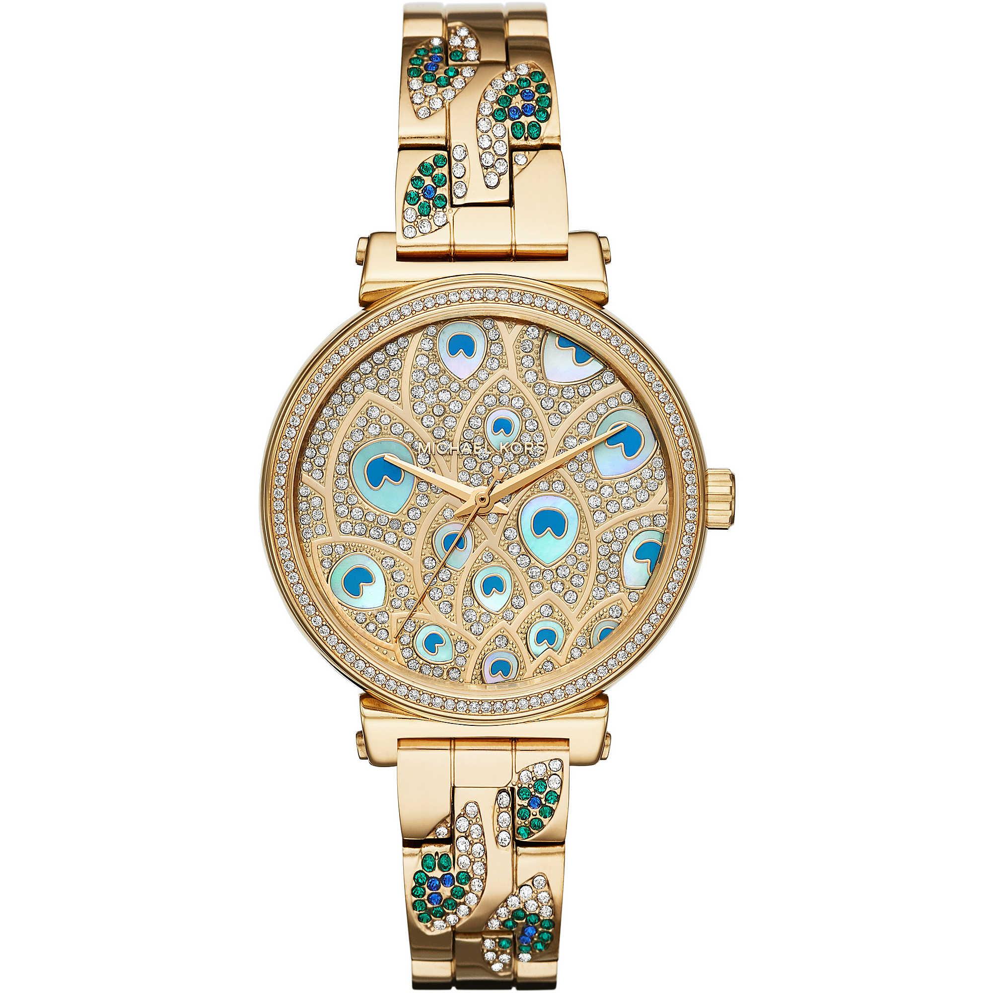 0539495dd1ca7f orologio solo tempo donna Michael Kors Sofie MK3945 solo tempo ...