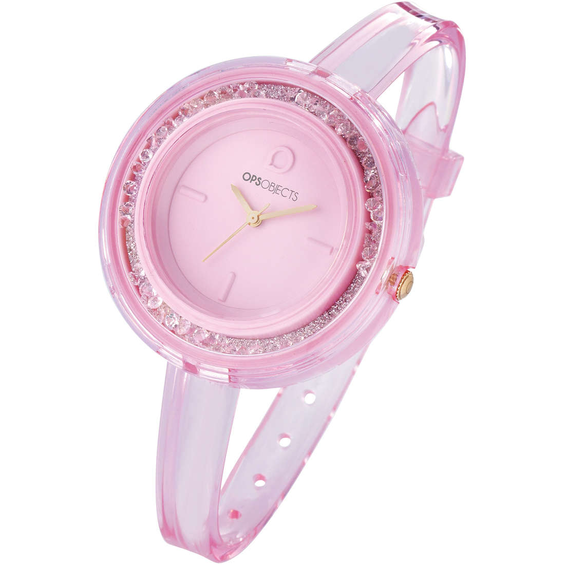 orologio solo tempo donna Ops Objects Moving Ston OPSPW-393