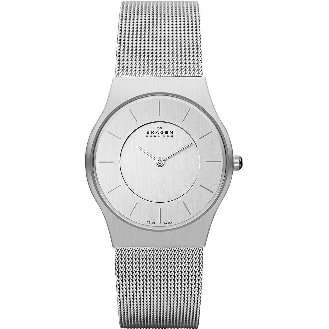 orologio solo tempo donna Skagen 233SSS