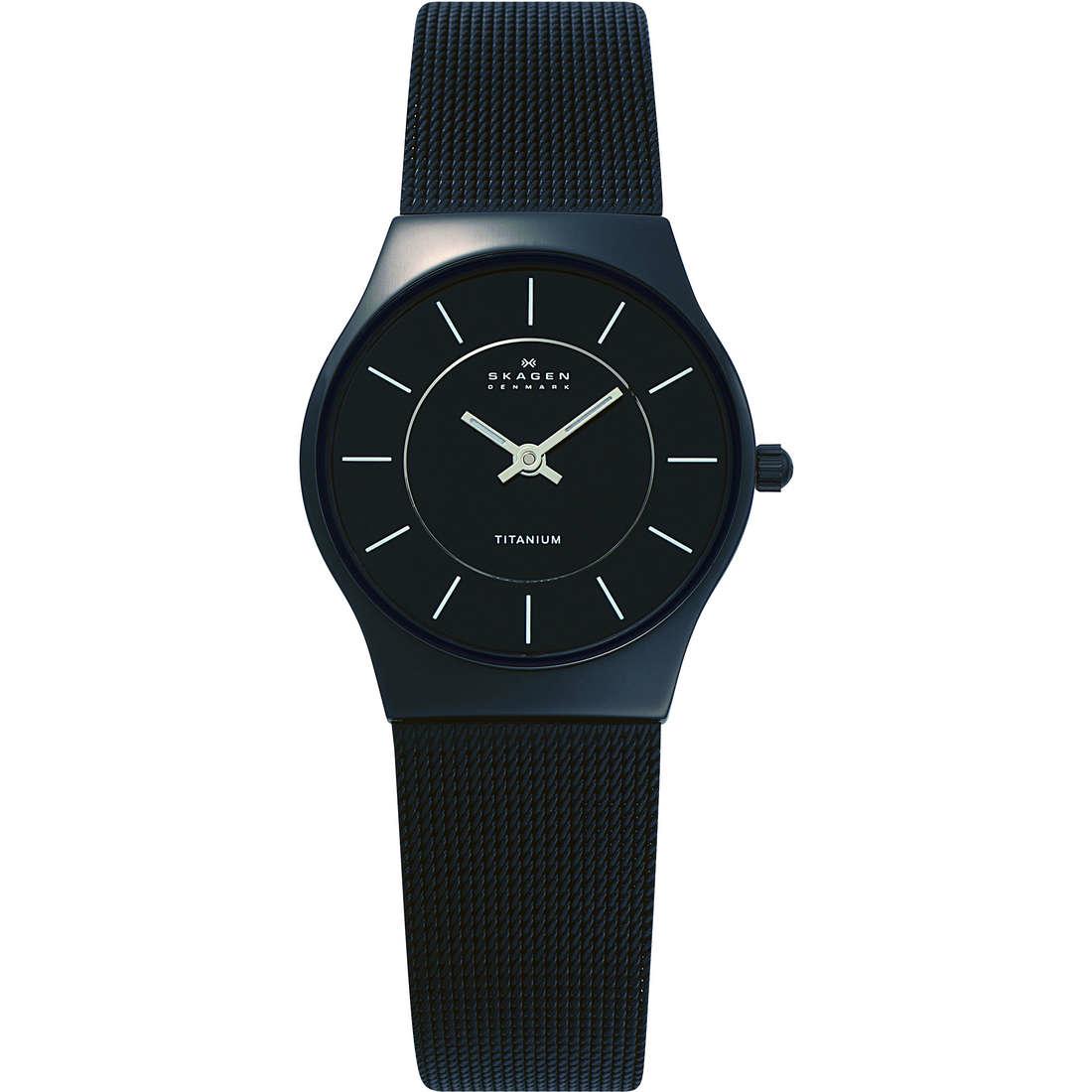 orologio solo tempo donna Skagen 233STMB