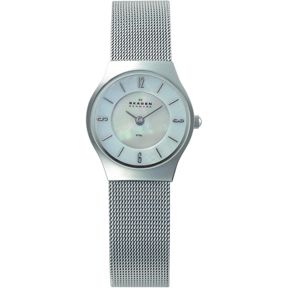 orologio solo tempo donna Skagen 233XSSS