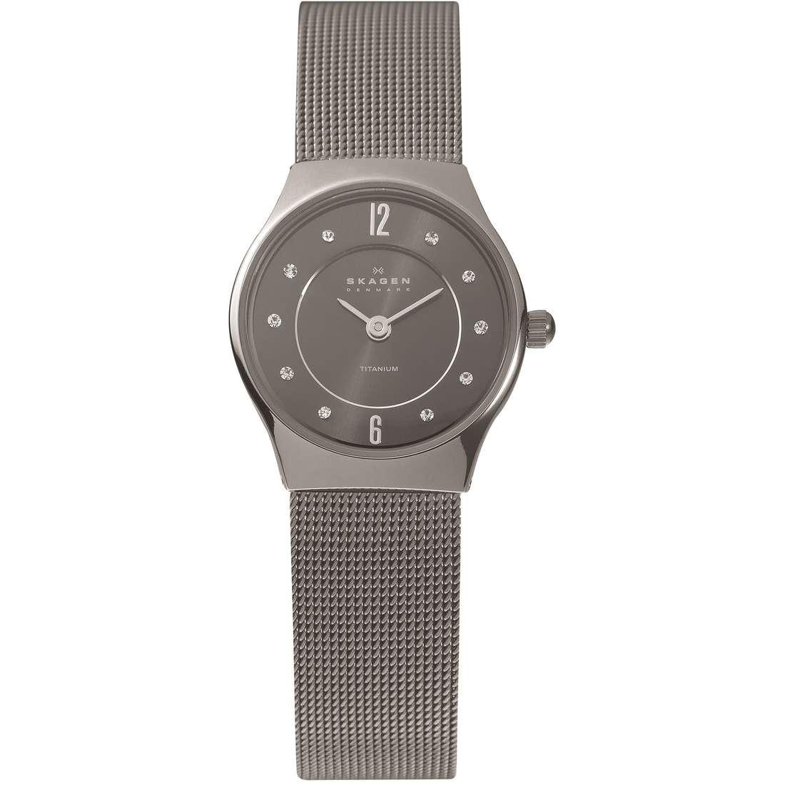 orologio solo tempo donna Skagen 233XSTTM