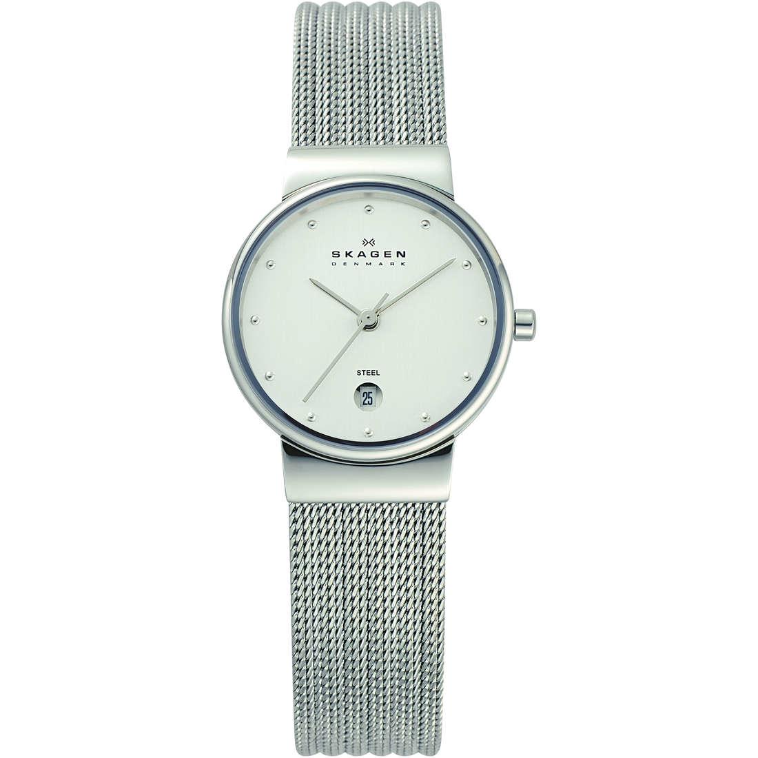 orologio solo tempo donna Skagen 355SSS1