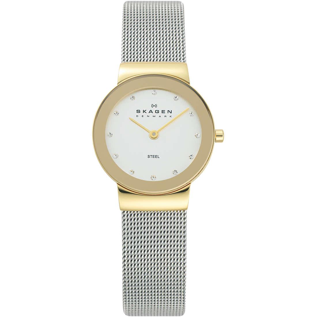 orologio solo tempo donna Skagen 358SGSCD