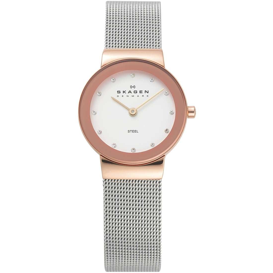 orologio solo tempo donna Skagen 358SRSC