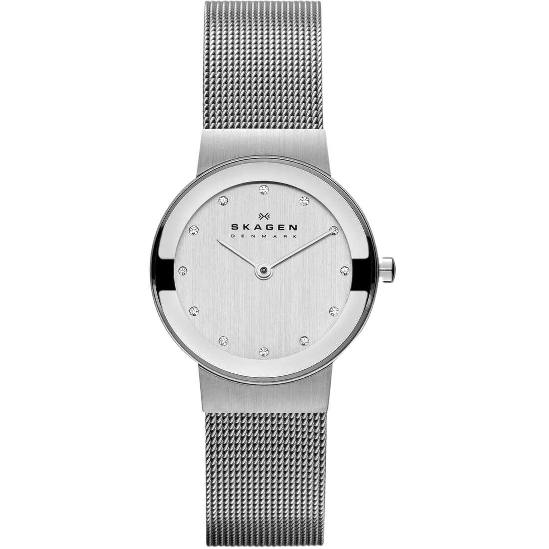 orologio solo tempo donna Skagen 358SSSD