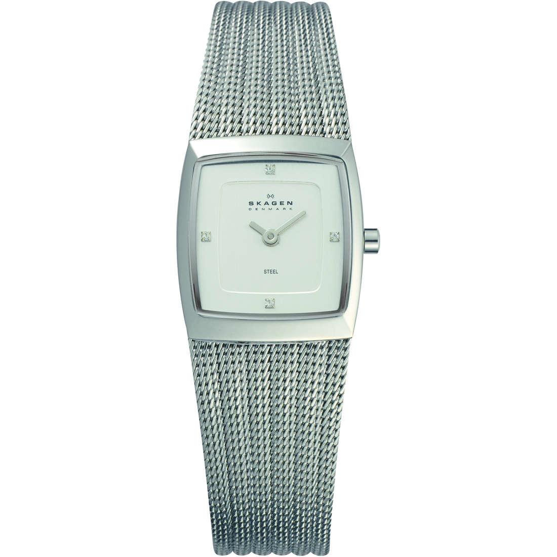orologio solo tempo donna Skagen 380XSSS1