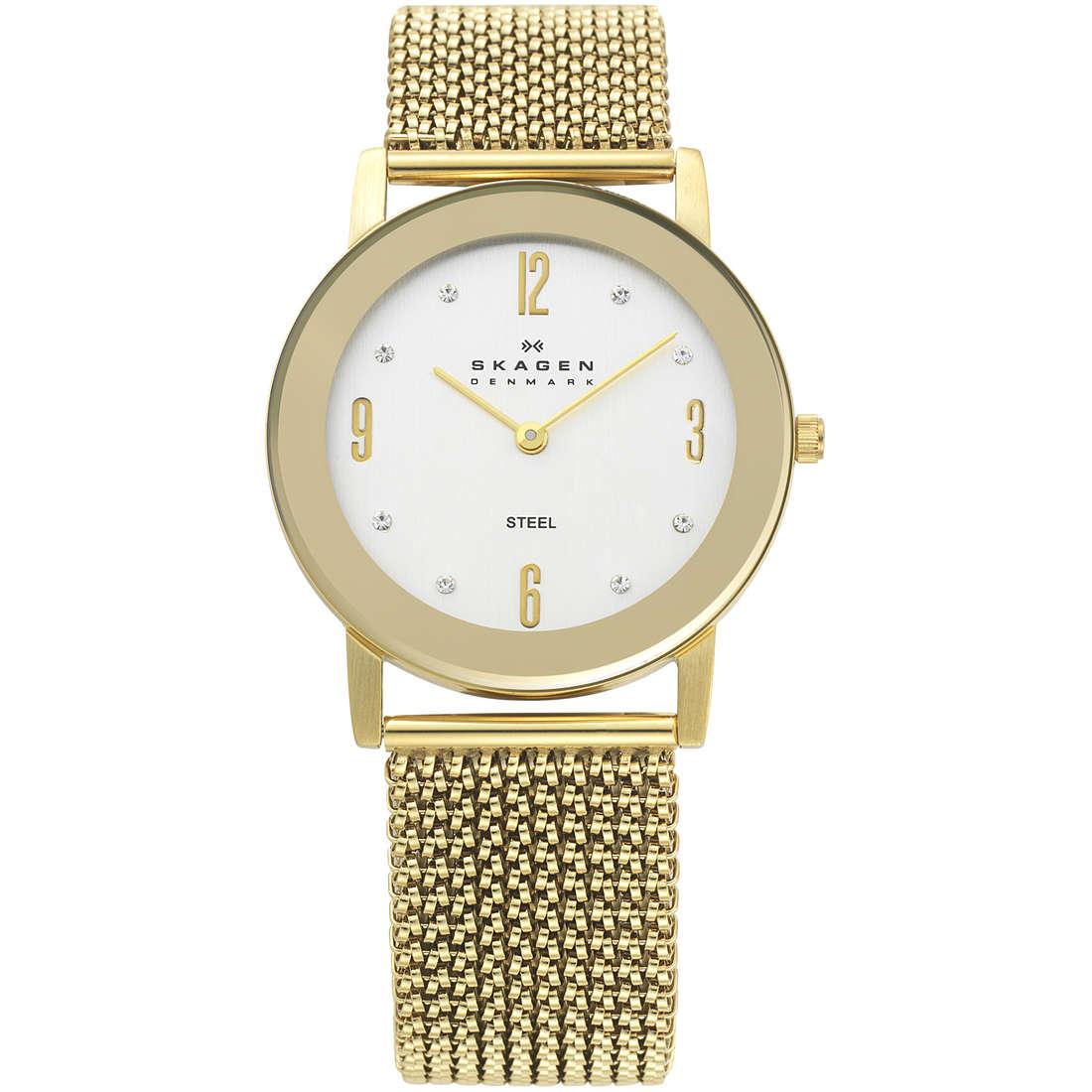 orologio solo tempo donna Skagen 39LGG1