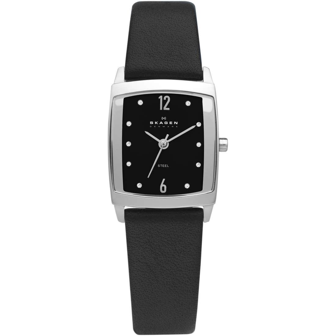orologio solo tempo donna Skagen 691SSLB