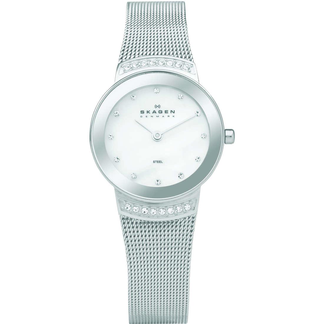 orologio solo tempo donna Skagen 812SSS