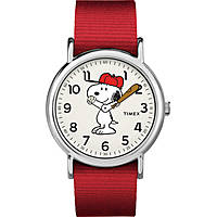 orologio solo tempo donna Timex Weekender Peanuts TW2R41400