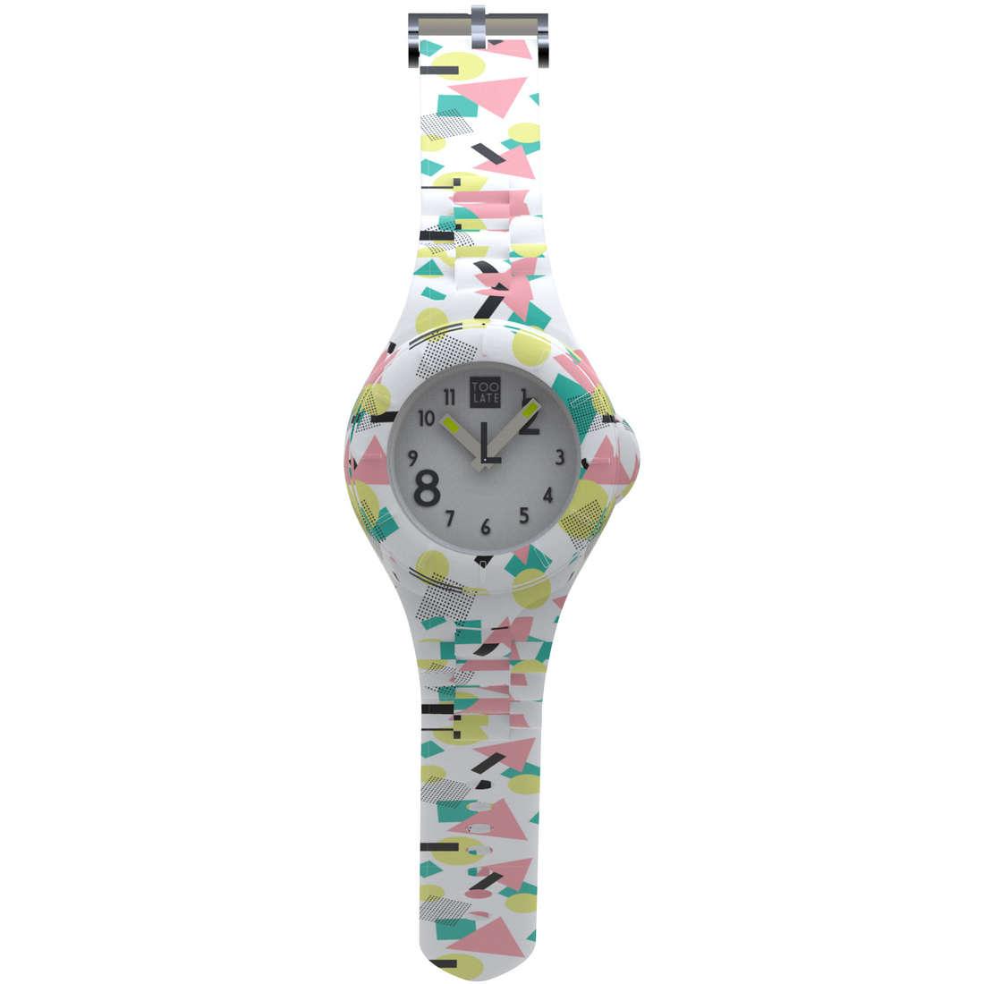 orologio solo tempo donna Too late 8052145225406