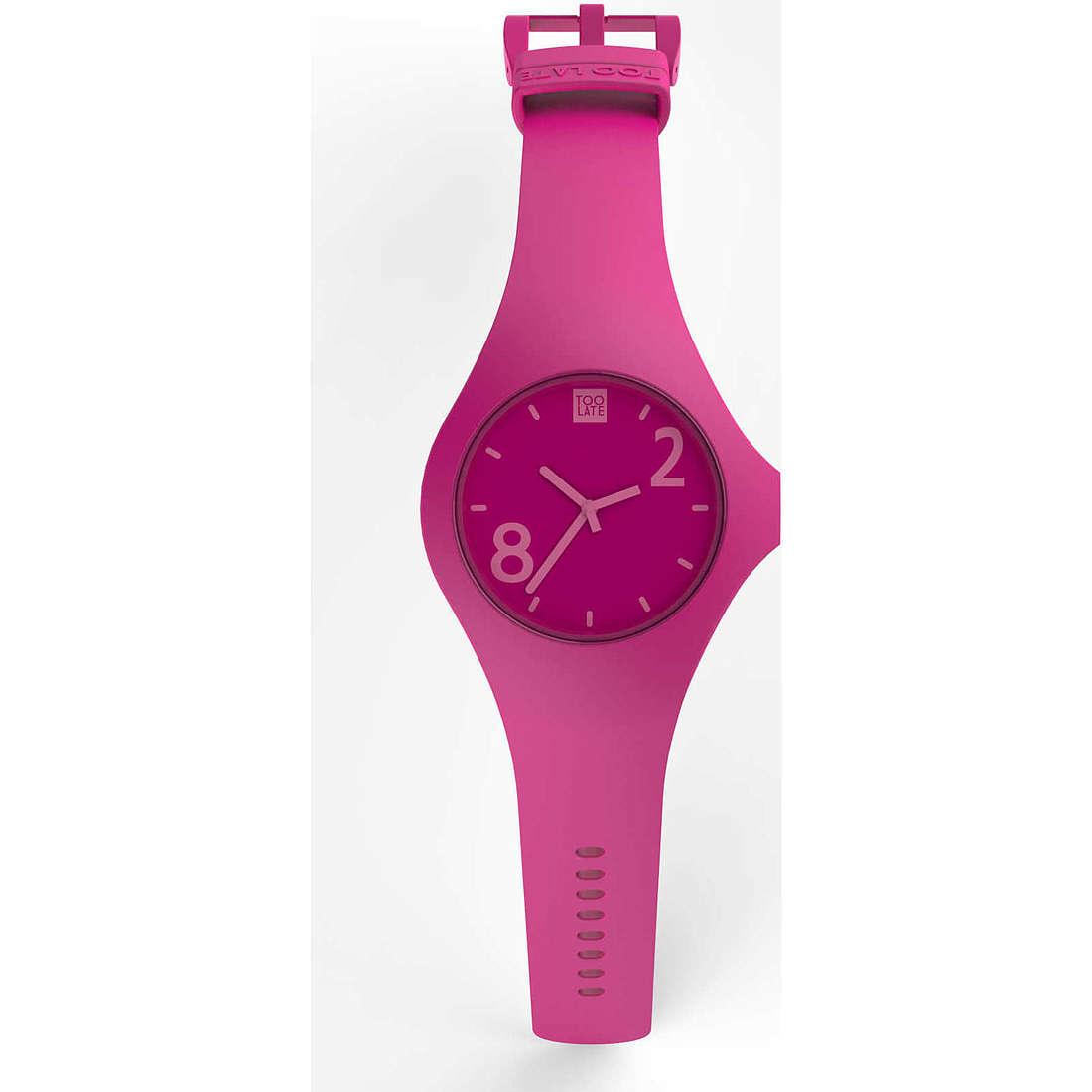 orologio solo tempo donna Too late Fat 8052745222034
