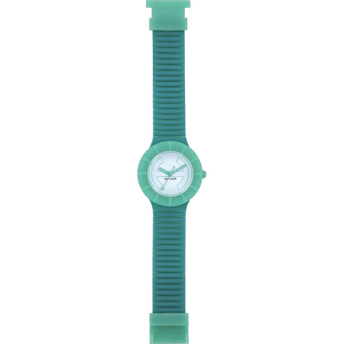 orologio solo tempo unisex Hip Hop Bicolor HWU0220