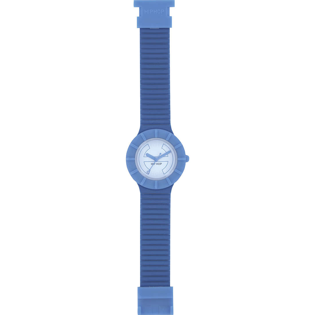orologio solo tempo unisex Hip Hop Bicolor HWU0221