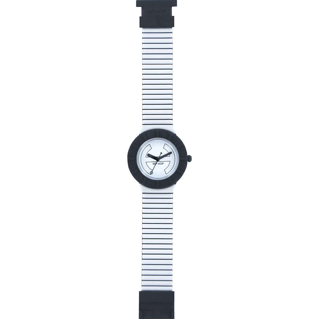 orologio solo tempo unisex Hip Hop Bicolor HWU0222