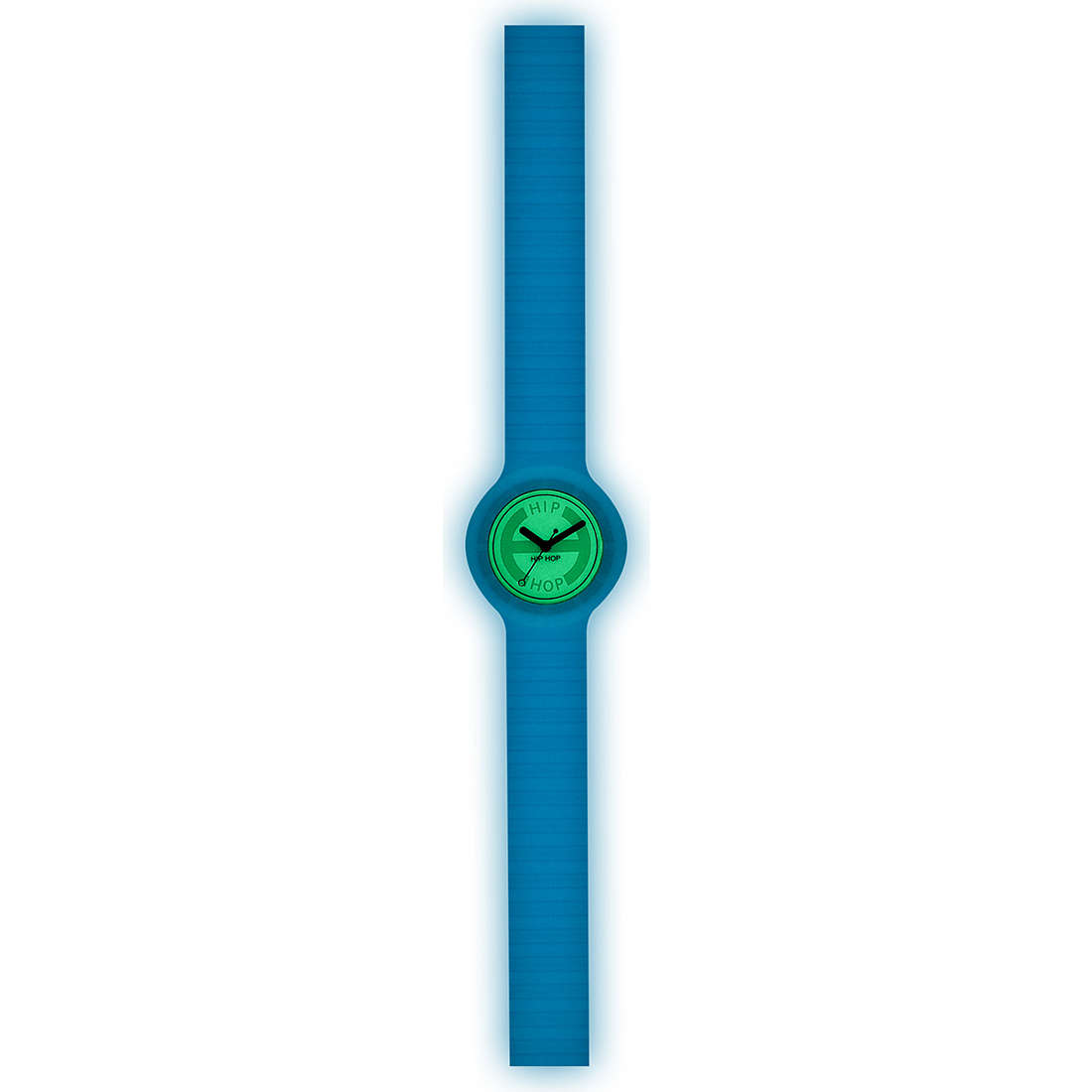 orologio solo tempo unisex Hip Hop Glowing HWU0186