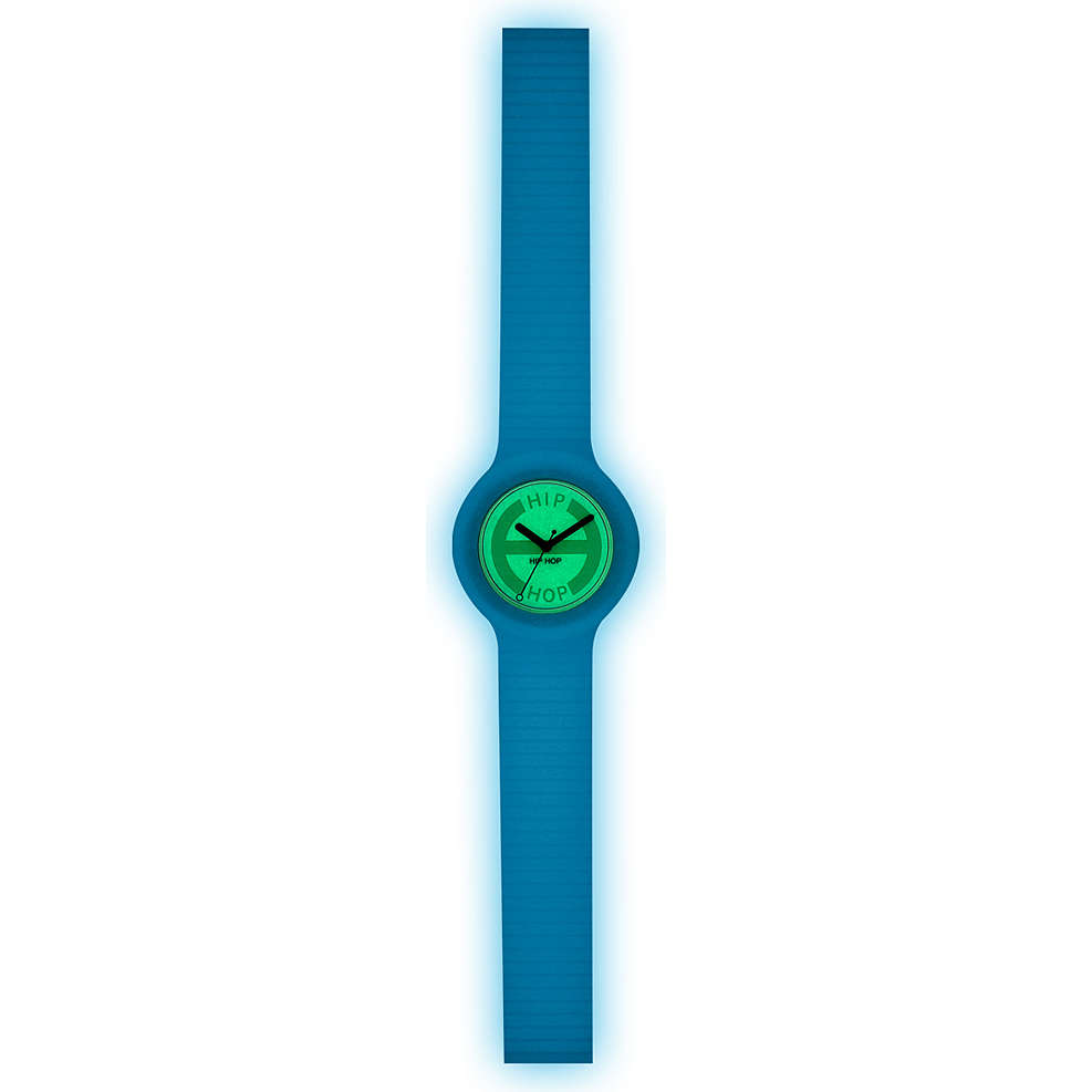 orologio solo tempo unisex Hip Hop Glowing HWU0190