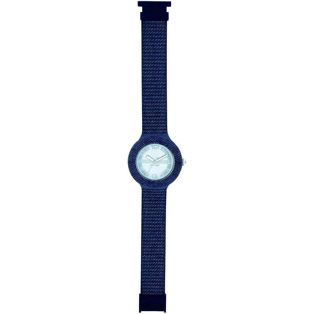 orologio solo tempo unisex Hip Hop Jeans HWU0296