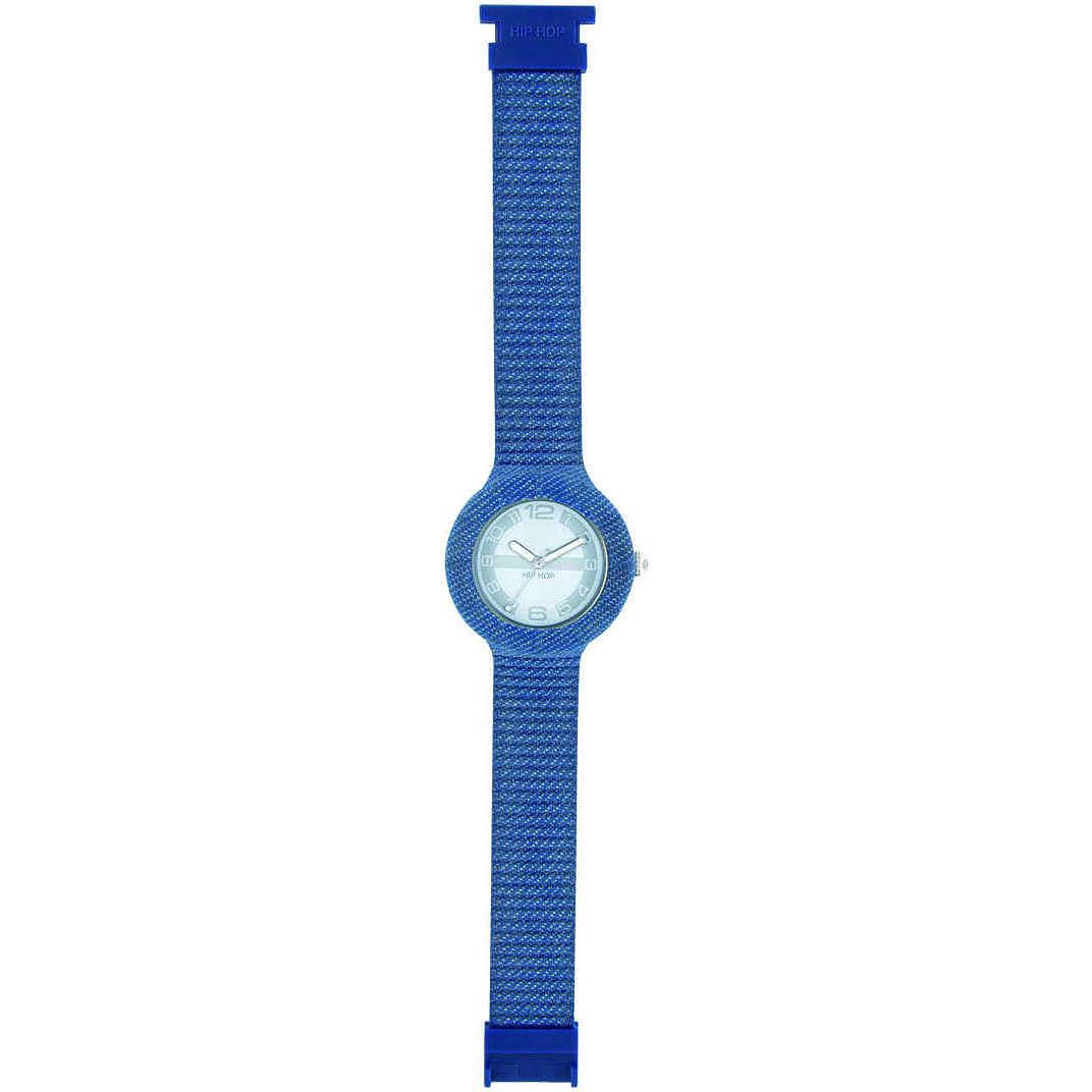 orologio solo tempo unisex Hip Hop Jeans HWU0297