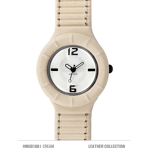orologio solo tempo unisex Hip Hop Leather HWU0198