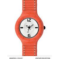 orologio solo tempo unisex Hip Hop Leather HWU0201