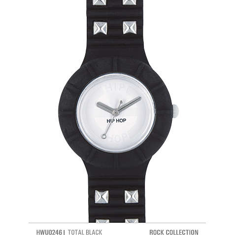 orologio solo tempo unisex Hip Hop Studs HWU0246