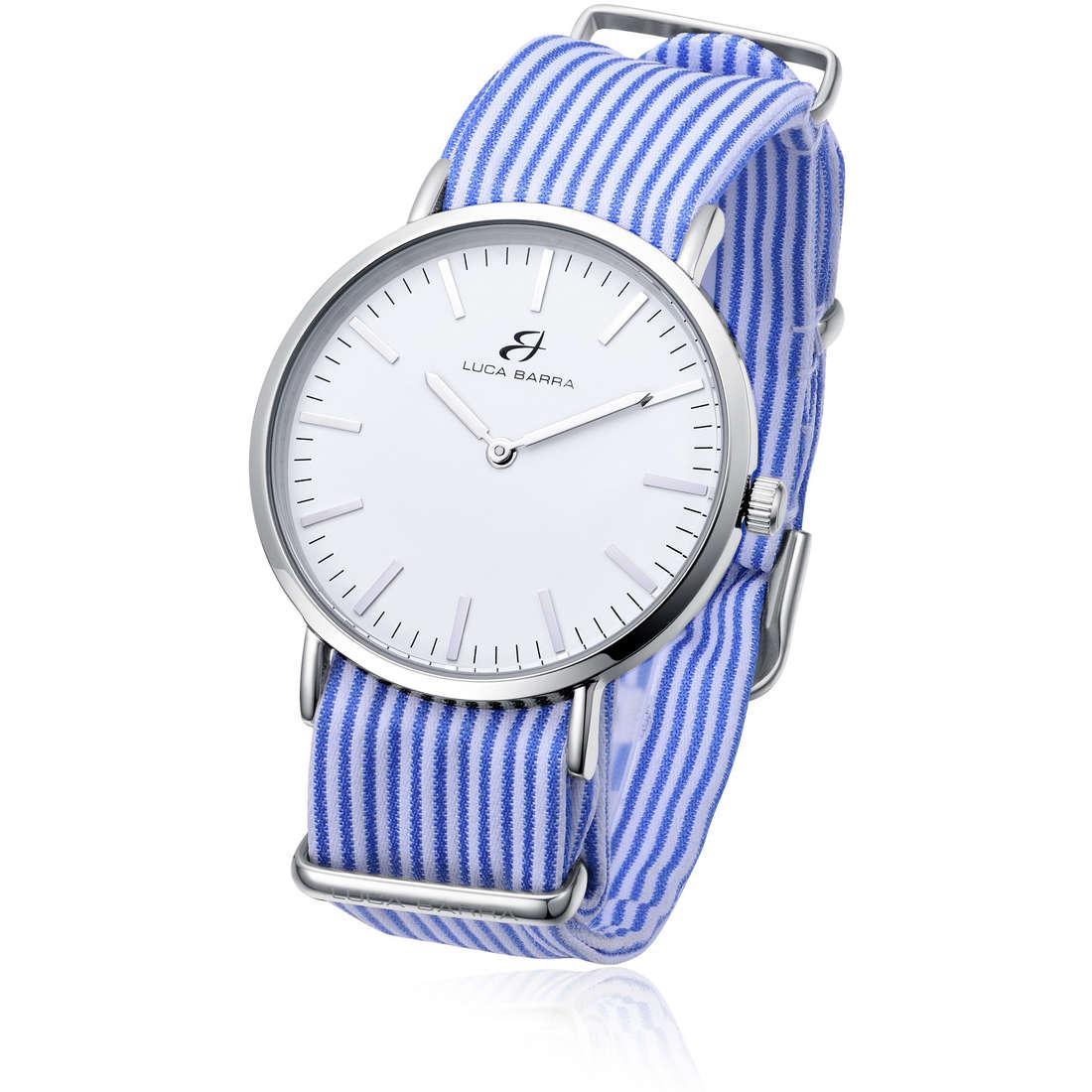 orologio solo tempo unisex Luca Barra LBBU12