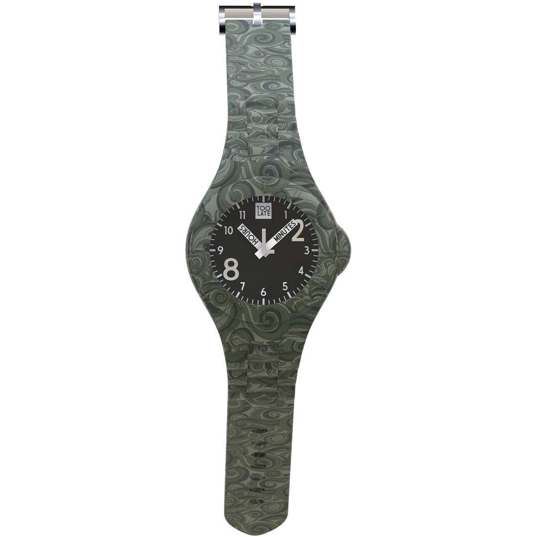 orologio solo tempo unisex Too late 8052145225451