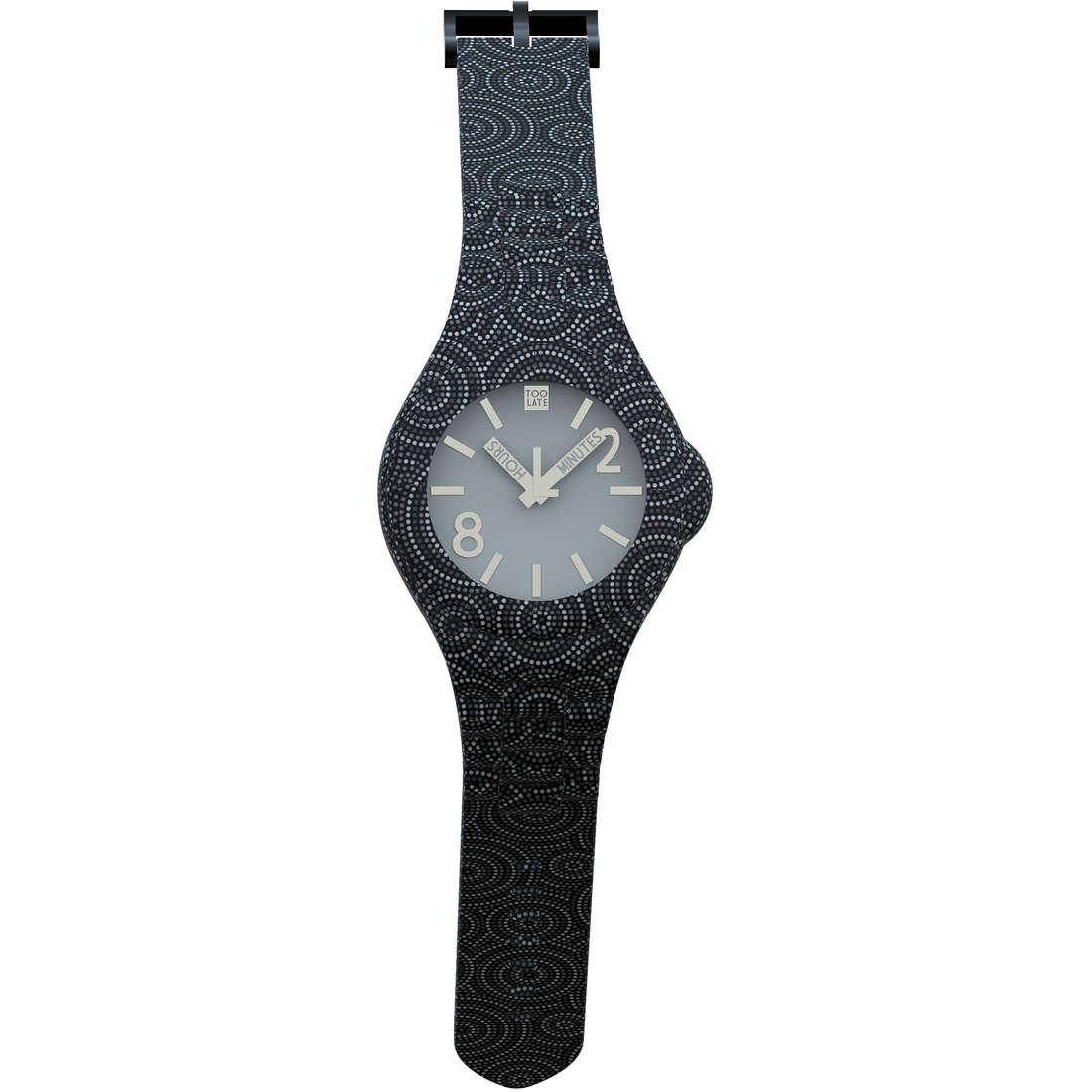 orologio solo tempo unisex Too late 8052145225475