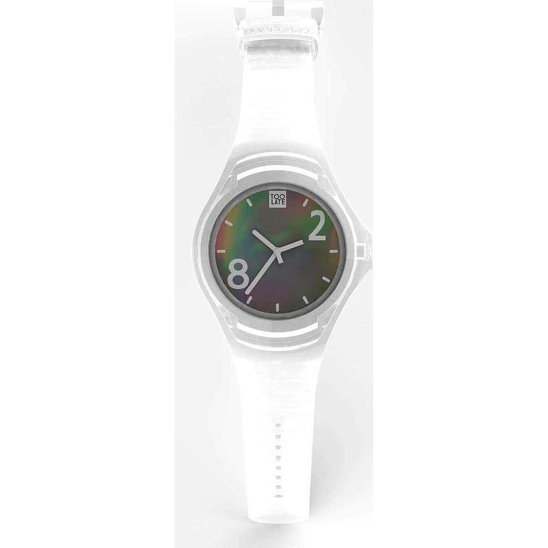 orologio solo tempo unisex Too late 8052745221099