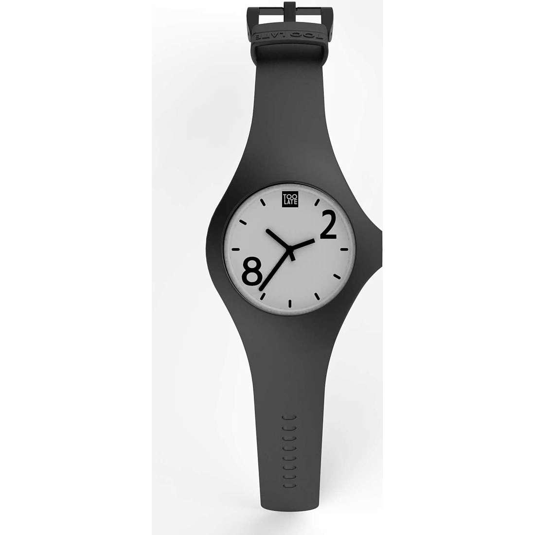 orologio solo tempo unisex Too late 8052745222096