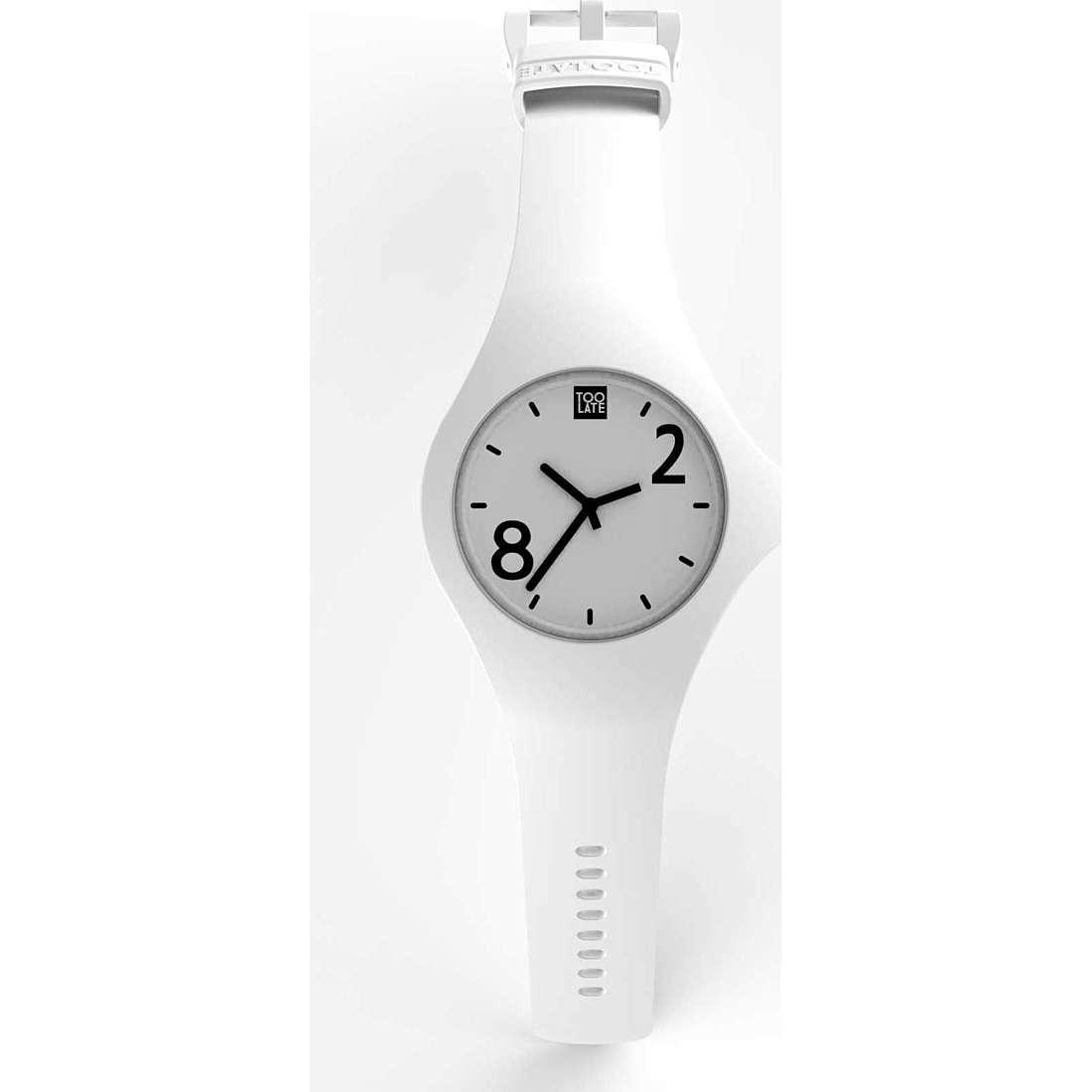 orologio solo tempo unisex Too late 8052745222119