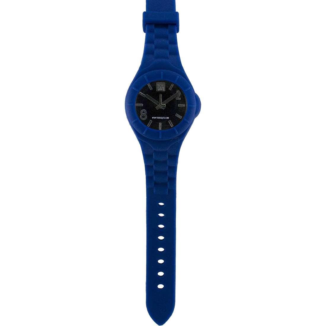 orologio solo tempo unisex Too late Mash-up M004N